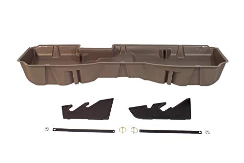 (DU-HA Under Seat Storage Fits 14-18 Chevrolet/GMC Silverado & Sierra Light Duty Crew Cab and 15-18 Heavy Duty Crew Cab Part#10302 - TAN)