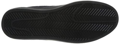Zapatos Schwarz de Walk Black Urban Noir Suède cordones Mujer Valmy wqE7C