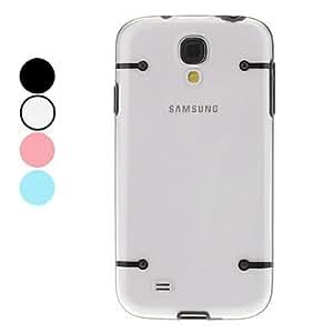 Noctilucent Design Transparent Bumper Case for Samsung Galaxy S4 I9500 (Assorted Colors) --- COLOR:Red