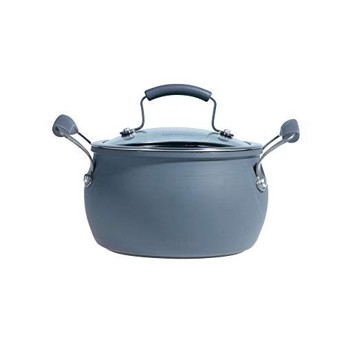 Epicurious Hard Anodized Nonstick 3 qt. Covered Soup Pot
