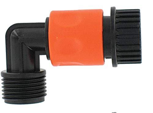 Valterra A01-0137VP Hose Quick Connect with 90° Hose Saver (6 Pack) by Valterra