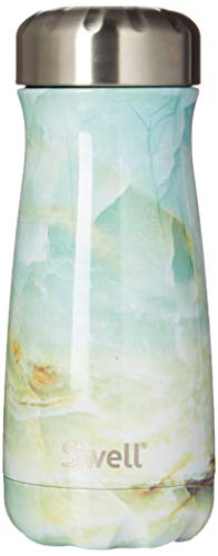 S'well 10316-B17-01140 Stainless Steel Traveler, 16oz, Opal Marble