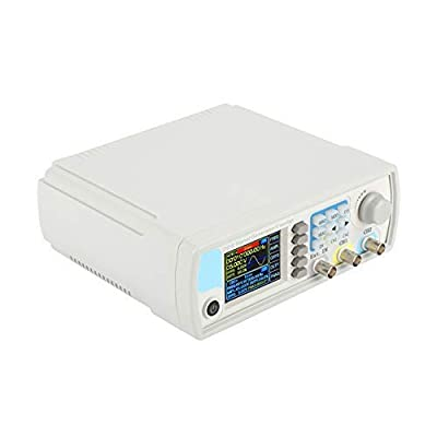 JDS6600 DDS Signal Generator Counter, 15MHz 30MHz 40MHz 50MHz 60MHz High Precision Dual Channel Arbitrary Waveform Function Generator Frequency Meter 266MSa / s (15Mhz)