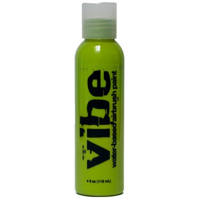 1-oz Lime Green Vibe Face Paint Airbrush Makeup (Green Face Makeup)