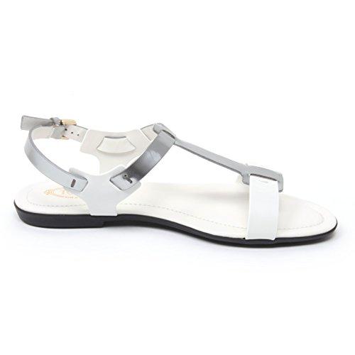 B4550 sandalo donna TOD'S scarpa argento/bianco sandal shoe woman Argento/Bianco