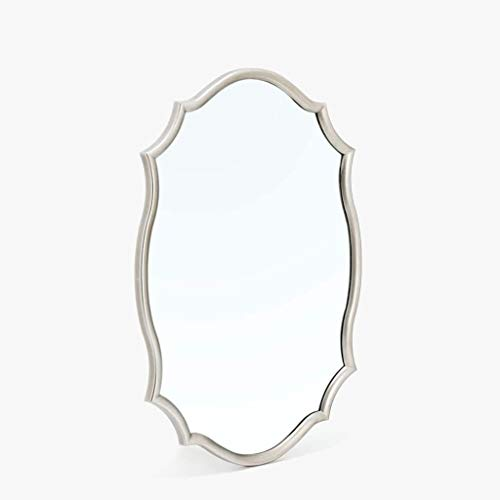 Mirrors Wall-Mounted Cone Round Bathroom Bedroom Dresser Vanity Living Room Wall Hanging - Lights Round Mirrors Cone Bathroom