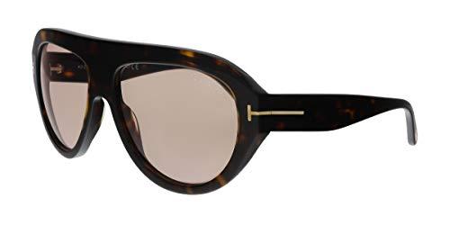 927fe5b34a Tom Ford FT0589 52Y Felix-02 Havana Aviator Sunglasses for Mens ...