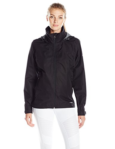 adidas outdoor Women's 2 Layer Wandertag Solid Jacket, Black, X-Large (Womens Spring Adidas)