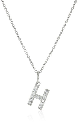 (Platinum Plated Sterling Silver