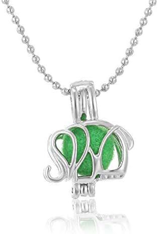 Dart3089 Necklaces & Pendants Aromatherapy Jewelry Mini Animal Aromatherapy Perfume Essential Oils Diffuser Necklace Locket Necklace Pendant Necklace