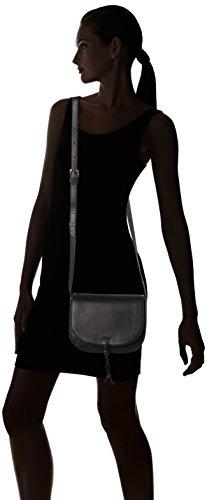 Bree Lusaka 1 Mini Bag Borsa a spalla pelle 22 cm Nero