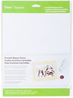 photograph relating to Printable Magnetic Paper known as Cricut 2002744 Printable Magnetic Sheets