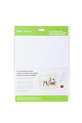 Cricut 2002744 Printable Magnetic Sheets