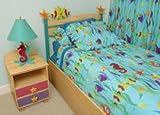 Room Magic Twin Comforter/Bedskirt/Sham Set, Tropical Seas
