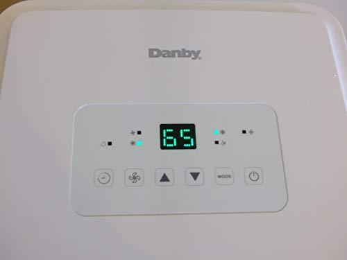 Danby DPA080E2WDB-6 Portable Air Conditioner Medium White