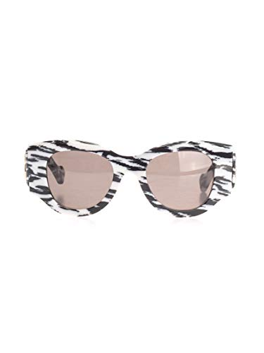 Luxury Fashion | Balenciaga Woman 595315T00019181 White Acetate Sunglasses | Season Permanent