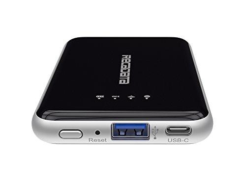 irecadata i7 128GB Wireless Wifi External Portable USB 3.1 Solid State Drive SSD Built in 2250 mah Power Bank by irecadata (Image #1)