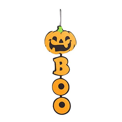 Ghosts & Spiders Swirl Decorations (DRACLE Halloween Hanging Decorations, Creative Indoor Outdoor hooks decoration Ghost Pendant Ornaments (G))