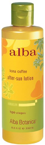 Alba Hawaiian After Sun Lotion Kona Coffee (Alba Botanica After Sun Ltn Kona Coffee 8.5 Fz)