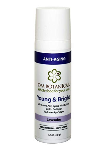 YOUNG AND BRIGHT All-in one Organic Day, Night Face Cream & Dark Spot Corrector   All Natural Age Spot and Hyper Pigmentation Remover   Wrinkle Repair with Peptides, Gotukola and Niacinamide