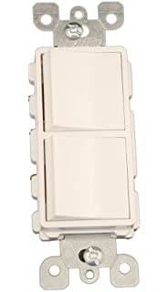 leviton 5643 w 15 amp 120 277 volt decora brand style 3 way 3 leviton 5641 w 15 amp 120 277 volt decora single pole