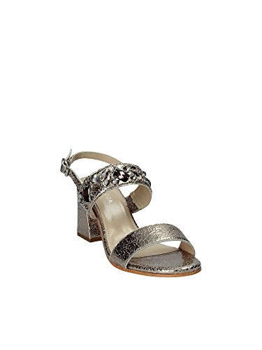 Sandals Women Grey High Heeled PLN15 Apepazza Iq8Ptn