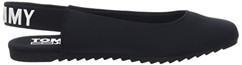 Hilfiger Dames Denim Ballerine Slingback Slingback Sportive Ballerines Noir (noir 990)