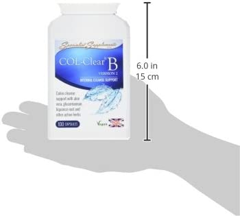 Specialist Supplements COL-Clear B Internal Cleanse Support 100 Capsules