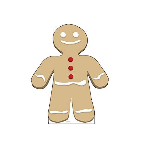 Advanced Graphics Gingerbread Man Life Size Cardboard Cutout Standup]()
