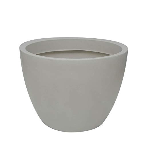 Vaso Verona 70 X 52 Cm Antique Branco Vasart Verona Antique Branco 70x52cm