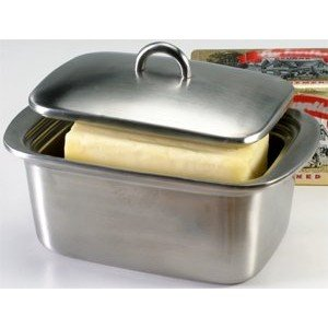 Danesco Stainless Steel Double Walled Butter Box ()