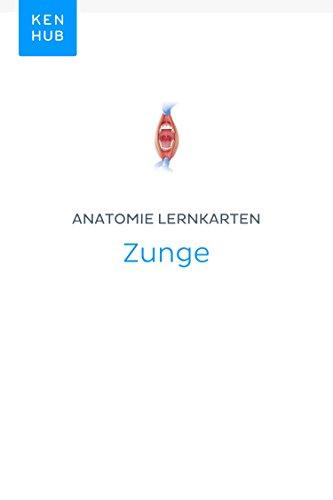 Anatomie Lernkarten: Zunge: Lerne alle Terminologie, Muskeln, Organe ...