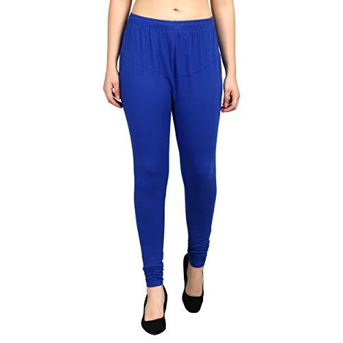 Diaz® Royal Blue Plain Legging for Women