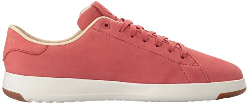 Haan Red Fashion Floral Sneaker Grandpro New Cole Women's Tennis Leather Mineral OX Lace A6HqCPp