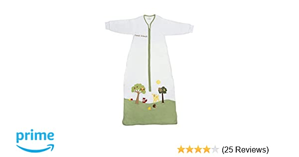 Amazon.com: Slumbersafe Winter Kid Sleeping Bag Long Sleeves 3.5 Tog - Forest Friends, 3-6 Years/XL: Baby