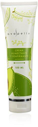 Avopelle Crema Humectante y Reafirmante Anti Estrias Corporal, color Verde Aguacate, 150ml