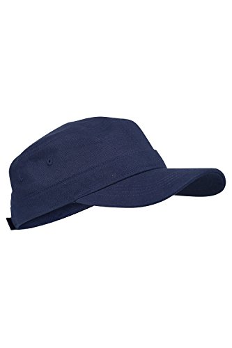 [Mountain Warehouse Mens Flat Cap Navy] (Pork Pie Hat For Sale)