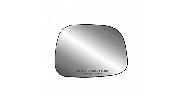Fits 02-07 Rendezvous Right Passenger Heated Convex Mirror Glass w//Rear Holder