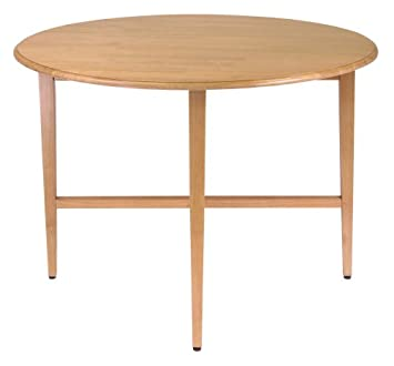 Winsome Wood 42 Inch Round Drop Leaf Table. Amazon com  Winsome Wood 42 Inch Round Drop Leaf Table  Kitchen