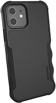Smartish iPhone 12/12 Pro Armor Case - Gripzilla [Rugged + Protective] Slim Tough Grip Cover - Black Tie Affai
