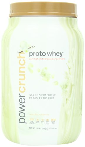 Power Crunch Proto Whey, Vanilla Creme, 2.1 Pounds