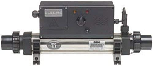 Productos QP Calentador Titanio Analogico 4,5 Kw Monofasico, Negro, 51.2x27x21 cm, 831005T