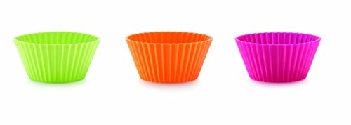 (Lekue 12-Piece Muffin-Cup Set,)