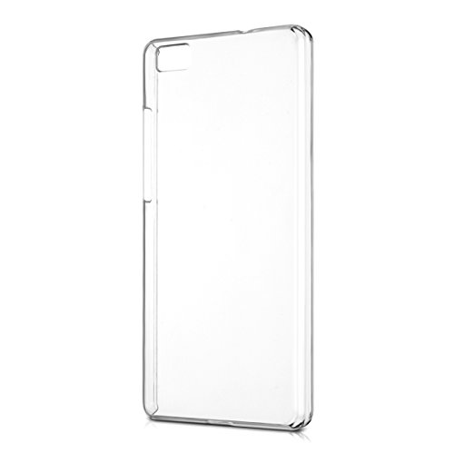 kwmobile Crystal Case for Huawei P8 Lite (2015) - Hard Durable Protective Smartphone Cover - Transparent