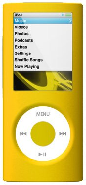 SwitchEasy Colors for iPod Nano 4G Case - Citrus -Yellow