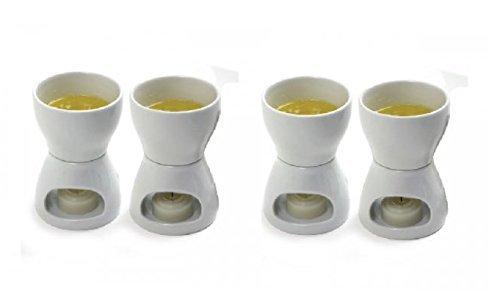Norpro Porcelain Butter Warmer, Set of 4 (Item 213) by Norpro
