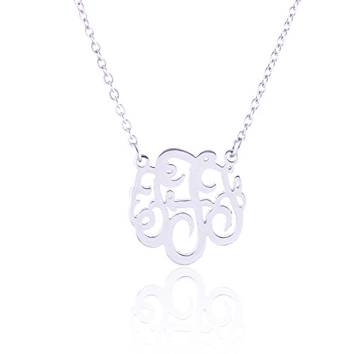 XUN Monogram Necklace Stainless Extender product image