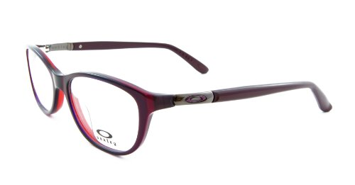 Oakley Downshift OX1073-0552 Dark Pink Vapor Clear Demo - Sunglasses Pink Oakley Womens