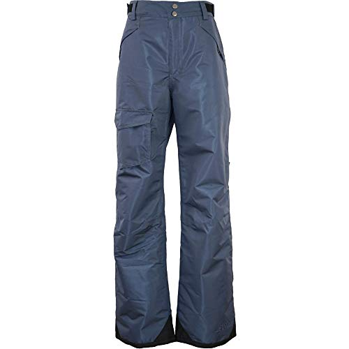 (Special Blend - Winter Snow Pants - for Skiing, Snowboarding, Sledding, Outdoor Fun - for Men (Steel Blue, Small))