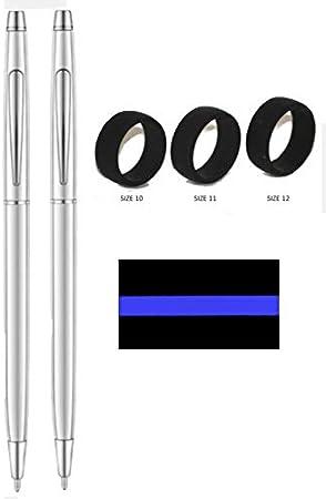 All Chrome Police Uniform Pens
